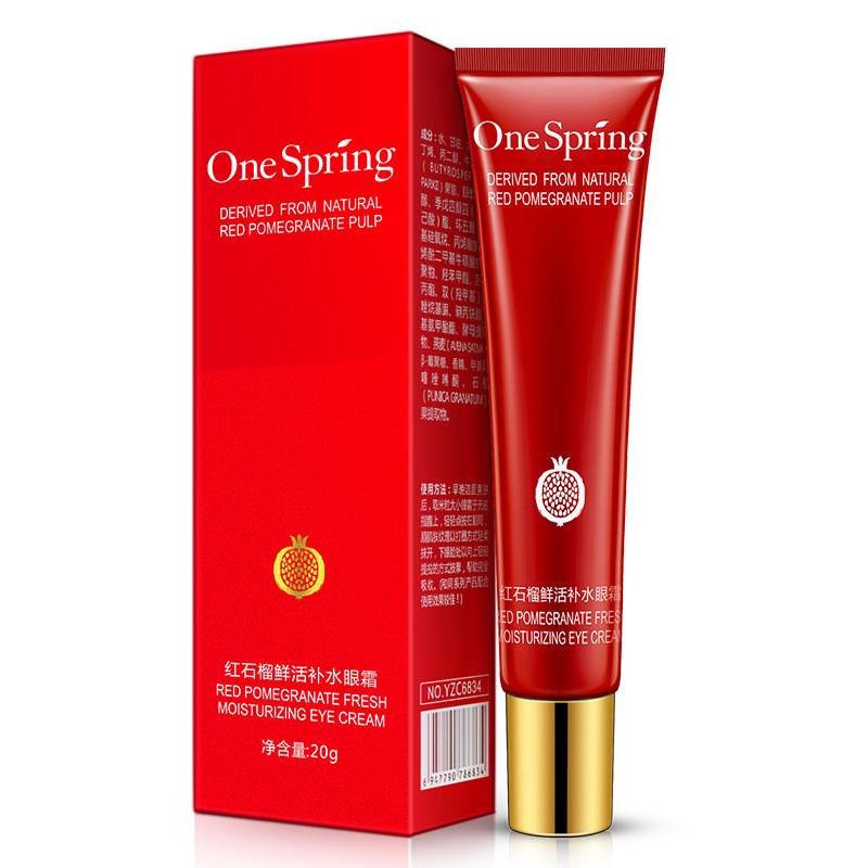 Крем для области вокруг глаз с экстрактом граната One Spring Red Pomegranate Fresh Moisturizing Eye Cream, 20г