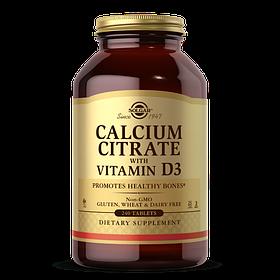 Кальций цитрат Д3 Solgar Calcium Citrate with vit D3 (240 таб) солгар