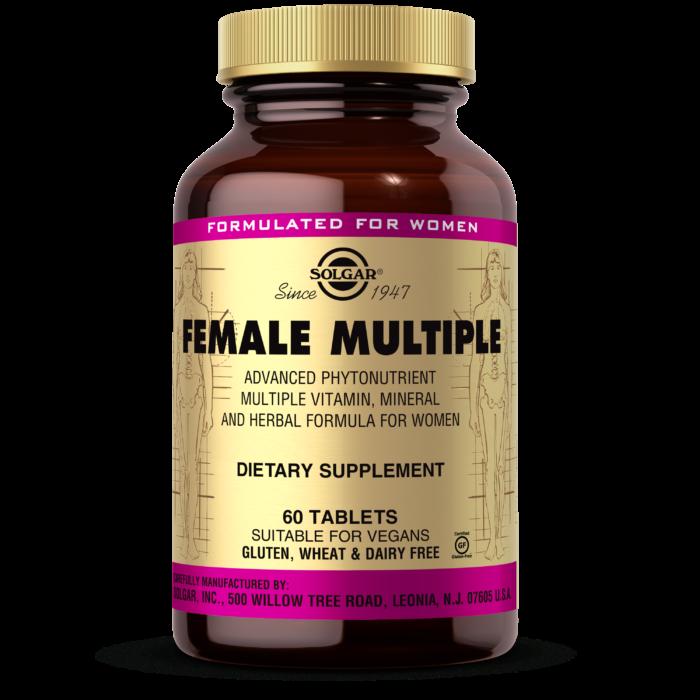 Витамины для женщин Solgar Female Multiple (60 табл) солгар фимейл мультипл