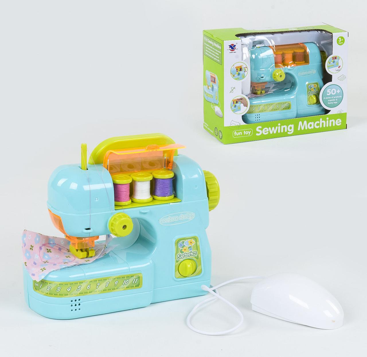 """Швейная машинка """"Sewing Machine"""" на батарейках, световые и звуковые эффекты, в коробке XS 19001"""