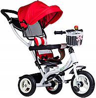 Прогулянковий велосипед триколісний візок Ecotoys JM-066-9L RED
