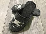 Тапки Тапочки Фетр Жіночі 36-37 р 24 см, фото 7