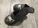 Тапки Тапочки Фетр Жіночі 36-37 р 24 см, фото 8