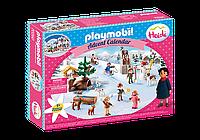 """Адвент календар """"зимовий світ Хайді"""" Playmobil 70260"""