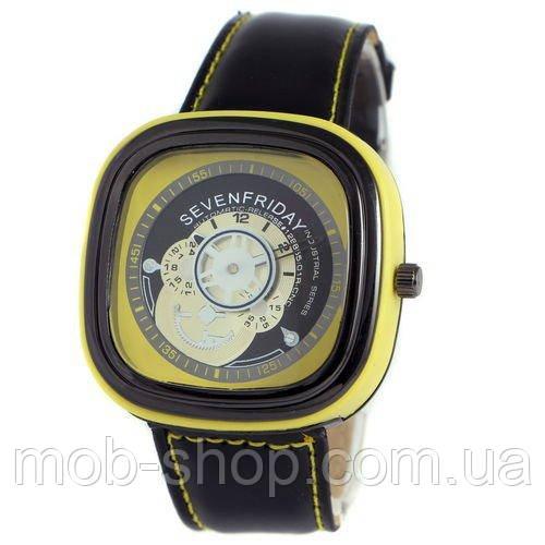 Sevenfriday Leather Yellow-Black