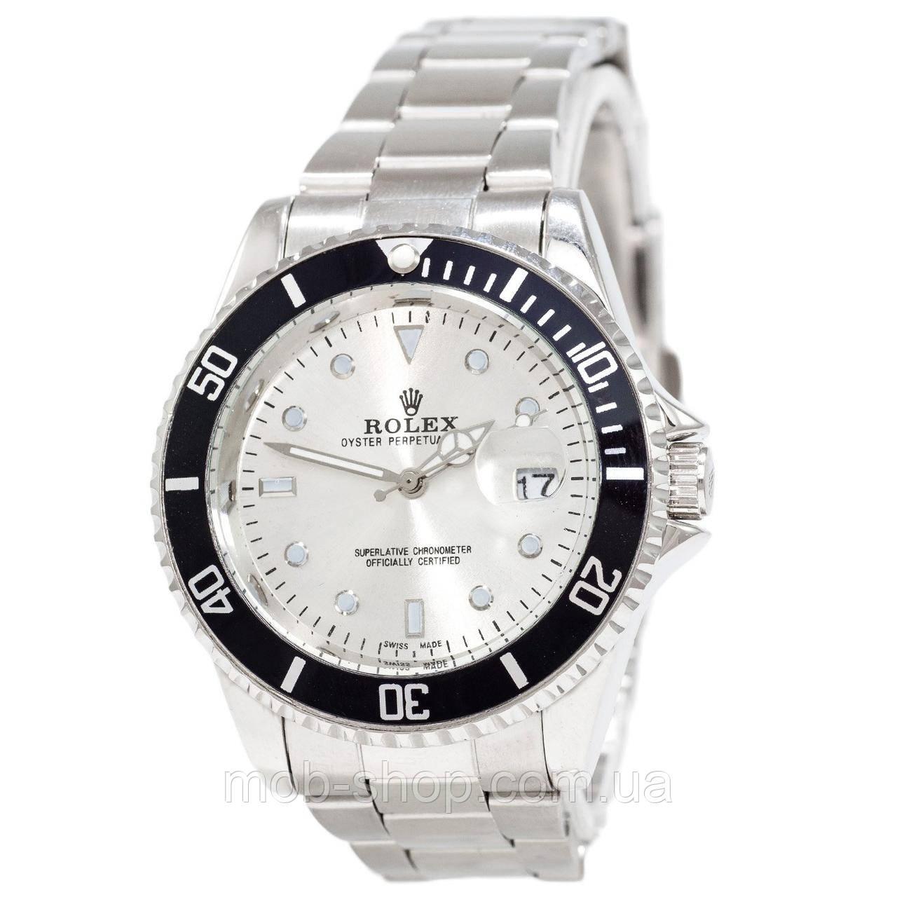 Rolex Submariner 2128 Quarts Silver-Black-Silver