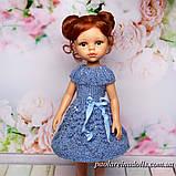 """Платье """"Лепестки роз"""" с паетками для кукол Паола Рейна, фото 2"""