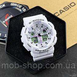 Наручний годинник Casio G-Shock GA-100 White