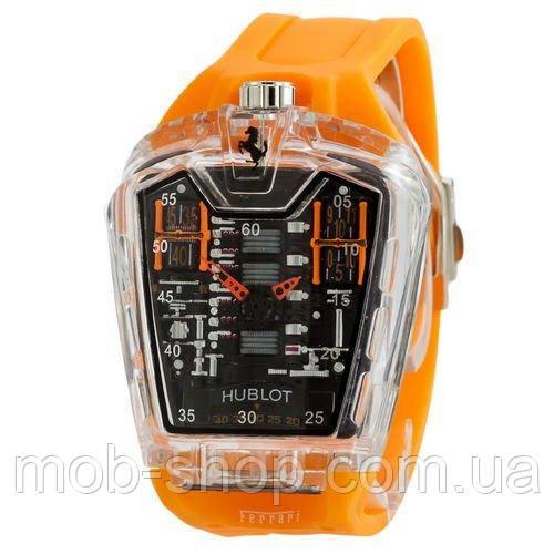 Стильные мужские наручные часы Hublot MP05 LaFerrari Orange