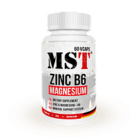 MST Zinc Magnesium B6 60 Vcaps