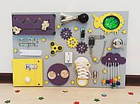 Бизиборд 40×60см Бізіборд. Busy board. Розвиваюча іграшка.