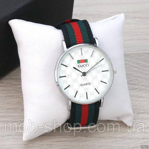 Gucci 6549 Silver-White Green-Red