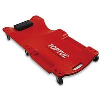 Toptul JCM-0300. 1020x480x115 мм. Подкатная тележка для ремонта автомобиля, лежак на колесах
