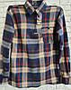 Рубашка теплая мужская на змейке 48-50 размер в розницу