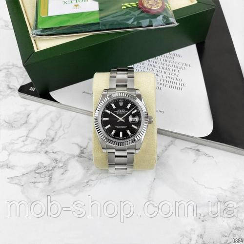 Rolex DateJust AAA Silver-Black