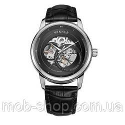 Наручний годинник Winner 339 Silver-Black