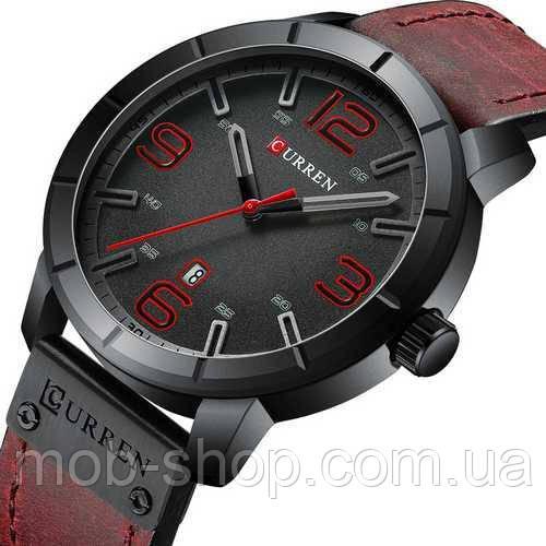 Curren 8327 Red-Black