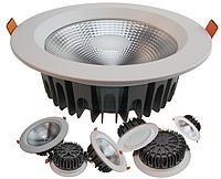Светодиодный LED даунлайт 30 Вт с аварийным аккумулятором, фото 1