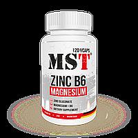 MST Zinc Magnesium B6 120 Vcaps