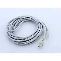 Патчкорд, витая пара для интернета LAN 5м 13525-8 серый