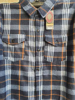 Рубашка теплая мужская на пуговицах фланель в розницу 54-56 размер, фото 1