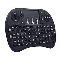 Бездротова англійська клавіатура Rii mini i8 WMY-1040 2.4 G чорний