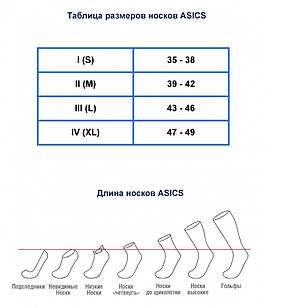 Носки Asics 3ppk Ped Sock 155206 0701, фото 2