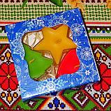 Новогодний набор восковых чайных свечей Рождественское Настроение (3шт.), фото 4