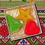 Новогодний набор восковых чайных свечей Рождественское Настроение (3шт.), фото 2