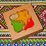 Новогодний набор восковых чайных свечей Рождественское Настроение (3шт.), фото 5
