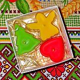 Новогодний набор восковых чайных свечей Рождественское Настроение (3шт.), фото 3