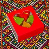 Новогодний набор восковых чайных свечей Рождественское Настроение (3шт.), фото 7