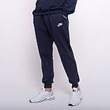 Чоловічі спортивні штани Puma, синього кольору (трикотаж), фото 4