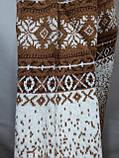 Зимний мужской теплый шерстяной свитер с орнаментом Rewac Турецкий Горчичный, фото 5