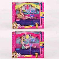 Игровой набор rosse кроватка кукла и аксессуары