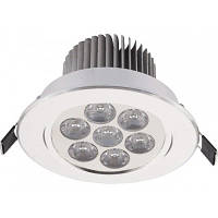 Светильник типа Downlight Nowodvorski DOWNLIGHT LED SILVER 6823