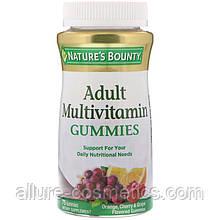 Жевательные мультивитамины для взрослых Nature's Bounty Adult Multivitamin gummies