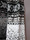 Зимний мужской теплый шерстяной свитер с орнаментом Rewac Турецкий Зеленый, фото 6