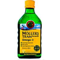 Рыбий жир с лимонным вкусом Moller's, 250мл