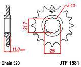 Звезда стальная передняя JT Sprockets JT JTF1581.13, фото 2