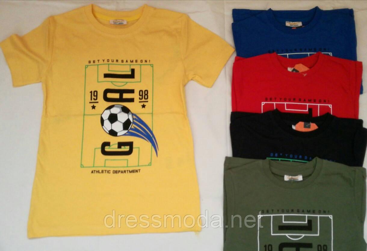 Футболки для мальчиков Турция 3-7лет