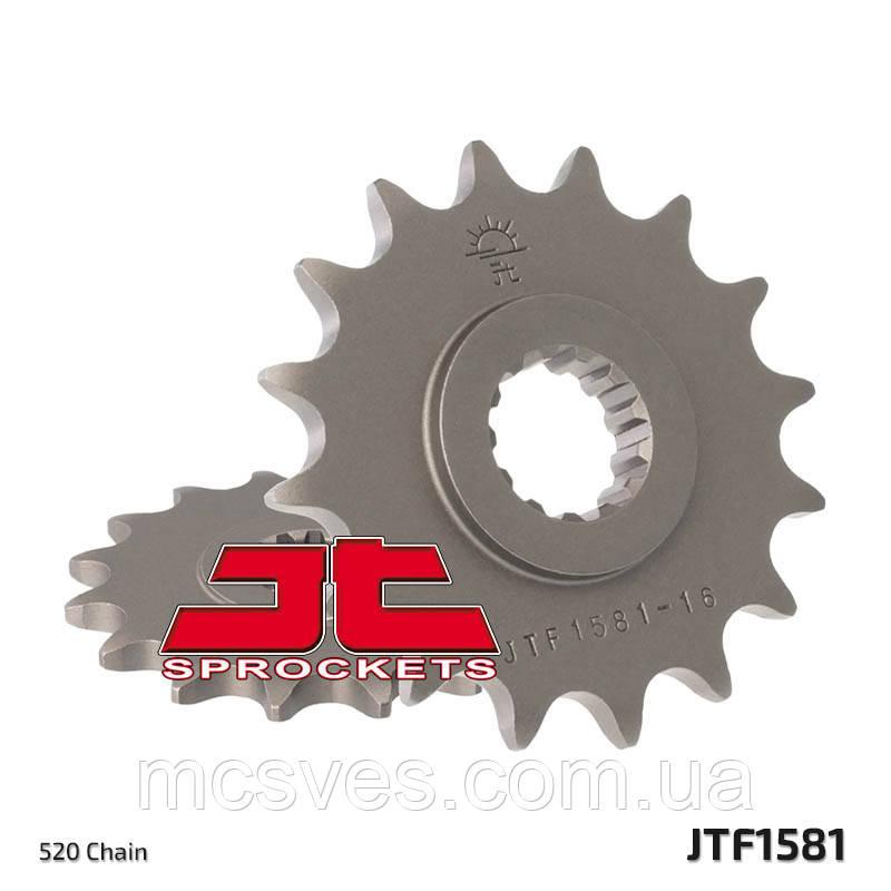 Звезда стальная передняя JT Sprockets JT JTF1581.16