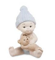 """Фарфоровая статуэтка """"Мальчик"""" бисквит (Pavone) JP-48/29"""