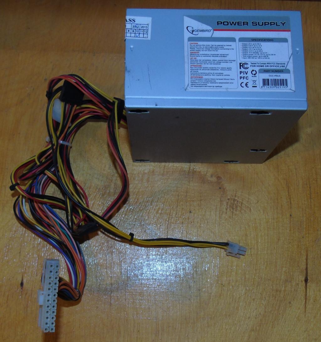 400W Блок питания Gembird CCC-PSU3
