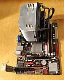 775 Материнская плата Biostar G41D3C + Процессор Intel Xeon X3330 + ОЗУ 4Gb DDR3, фото 2