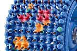 Аппликатор Ляпко Валик Лицевой М 3,5 Ag игольчатый ручной массажер для лица и тела Синий, фото 2
