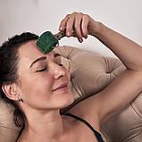Аппликатор Ляпко Валик Лицевой М 3,5 Ag игольчатый ручной массажер для лица и тела Синий, фото 5