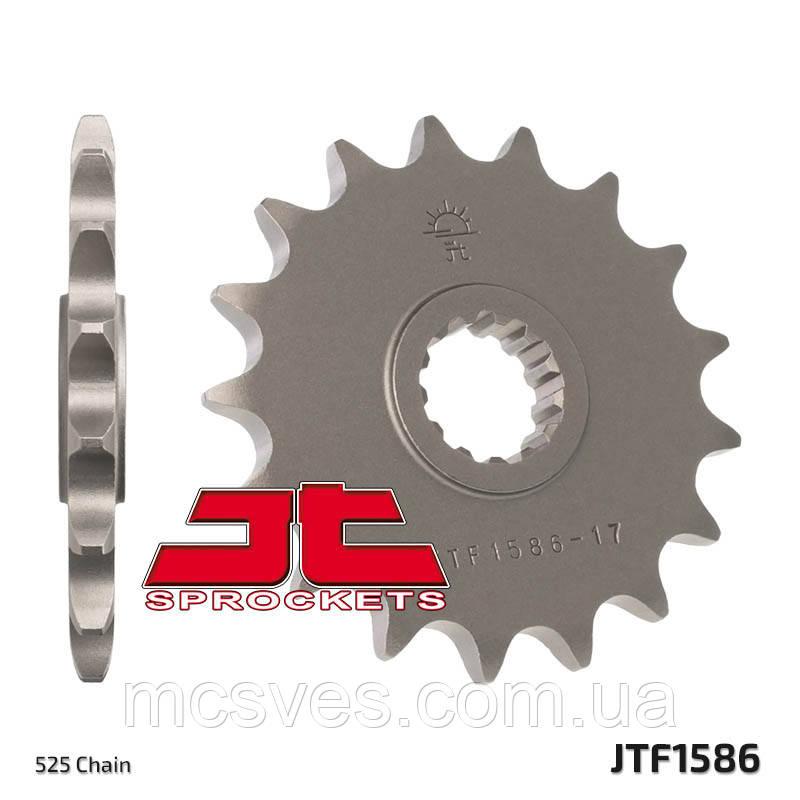 Звезда стальная передняя JT Sprockets JT JTF1586.17