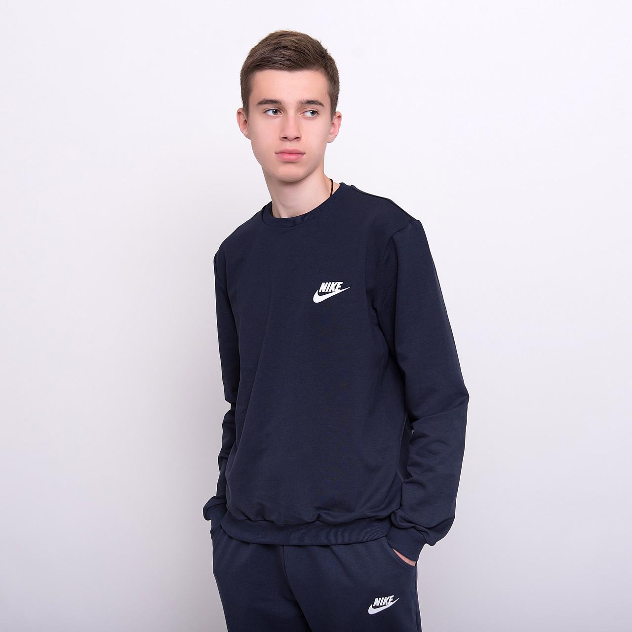 Чоловічий світшот Nike темно-синього кольору
