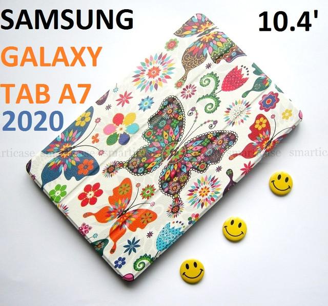 оригинальный чехол Samsung Tab A7 10.4 Silver